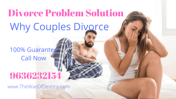 Why couples divorce